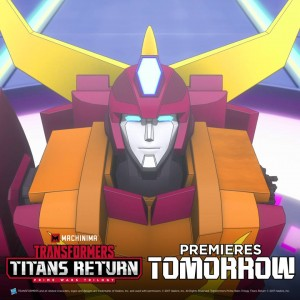 Transformers News: Machinima Transformers: Titans Return Animated Series Premieres Tomorrow - What's Happened so Far?
