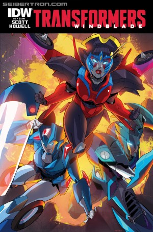 Sneak Peek - IDW Transformers: Windblade #5 iTunes Preview