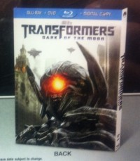 Transformers News: Best Buy Exclusive Transformers Dark of the Moon Blu-ray Slipcover