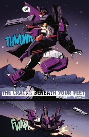 IDW Transformers #8 and #9 Previews