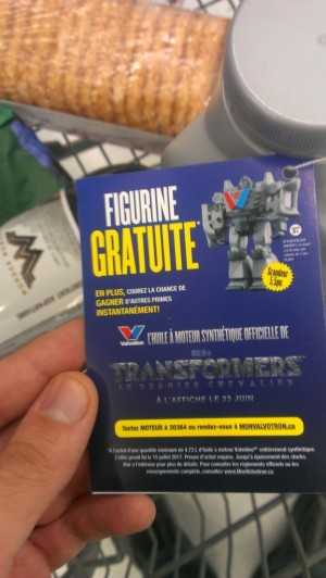 Transformers News: Transformers: The Last Knight Valvotron Figure Promotion Available to Canadians in English and French
