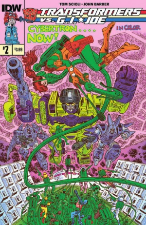 IDW Transformers vs. G.I. Joe #2 Preview