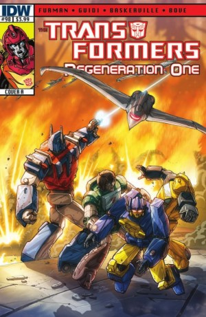 Transformers News: IDW Transformers: ReGeneration One #98 Script (W)Rap and Teaser