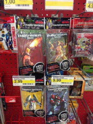 Micro Comic Fun Packs from IDW Publishing re-Sighted at Target Stores