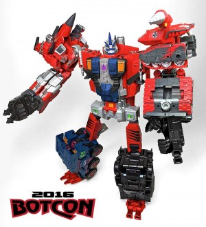 Transformers News: Video Review Botcon 2016 Tripredacus Council Figures