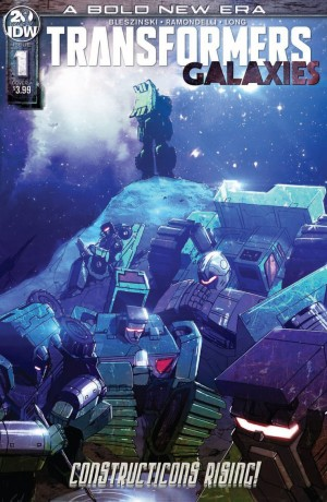 Transformers News: IDW Transformers Galaxies Constructicons Rising Issue 1 Full Preview