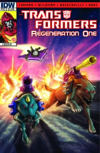 Transformers News: Transformers ReGeneration One #92 Preview