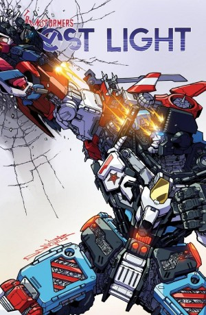 Review of IDW Transformers: Lost Light #12