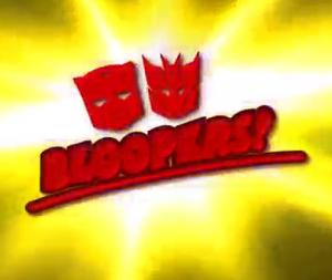 Transformers Prime Bloopers