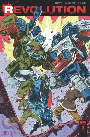 Declassifying IDW and Hasbro's Comics Merge: Revolution - With John Barber, Cullen Bunn, Fico Ossio