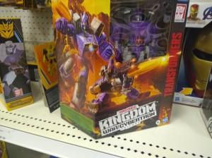 Transformers Kingdom Leader Class Galvatron Sighting