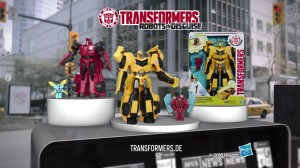 German TV Spot - Transformers: Robots in Disguise Power Heroes Bumblebee and Sideswipe
