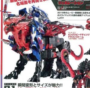 Takara Tomy Transformers The Last Knight TLK30 / 31 Dragonstorm Figure King 236