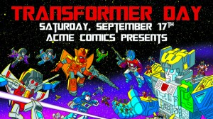 IDW Titans Return Acme Comics Variant and Transformers Day Celebration on September 17th, 2016