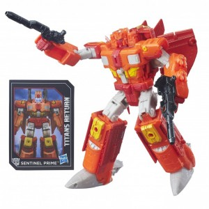 Transformers News: Transformers Titans Return Sentinel Prime Stock Images