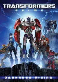 "Transformers News: Transformers Prime ""Darkness Rising"" DVD cover art revealed"