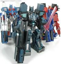 Transformers News: New Galleries: Shadow Commander & DIA Commander