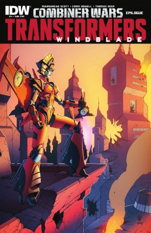 Transformers News: IDW Transformers: Windblade #4 Full Preview