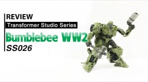 Transformers News: Video Review of Transformers Studio Series #26 WW2 Bumblebee