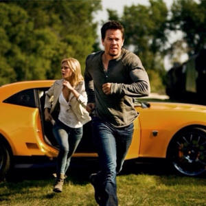 Transformers News: New Transformers: Age of Extinction Still featuring Cade and Tessa Yeager