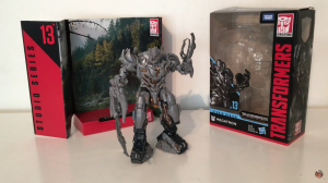 Video Review of Transformers Studio Series Voyager Megatron