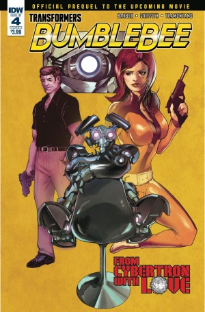 iTunes Preview for IDW Bumblebee: From Cybertron with Love #4 #JoinTheBuzz