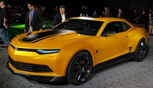 Transformers News: Transformers: Age of Extinction Vehicles on Display at SEMA 2013