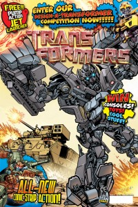 Titan Transformers Comic 2.9 to hit stores in the UK