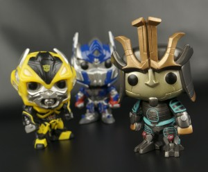 New Galleries: Funko Pop! Age of Extinction Optimus Prime, Bumblebee and Drift