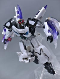 Transformers News: In-Hand Images: Transformers Prime Beast Hunters Prowl and Night Shadow Bumblebee