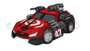 Transformers Bots Shots Concept Art from Ken Christiansen