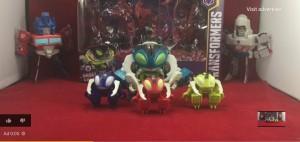 New Video Reviews of Transformers Cyberverse Repugnus Revenge Set