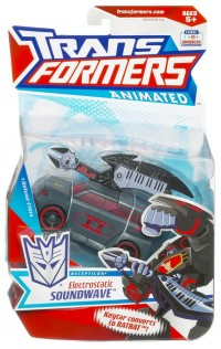 Transformers News: More Images of Animated Electrostatic Soundwave and Freeway Jazz