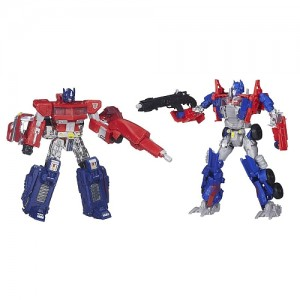 Transformers Age of Extinction Optimus Prime Evolution 2 Pack on TRU.ca