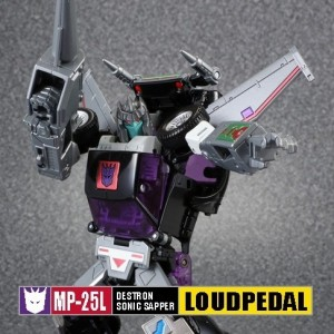 Transformers News: Takara Tomy Transformers Masterpiece MP-25L Loud Pedal - Official Pics