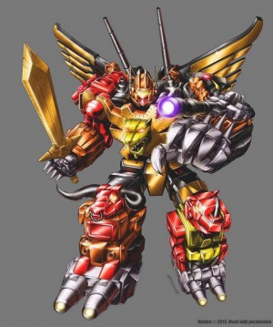 Marcelo Matere Official Package Art - Platinum Edition Predaking and Grimlock