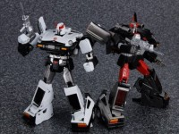 Transformers News: New Takara Tomy Transformers Masterpiece MP-17 Prowl and MP-18 Bluestreak Images