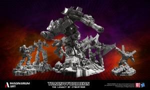 Transformers News: New Imaginarium Art Transformers Statues Groupshot