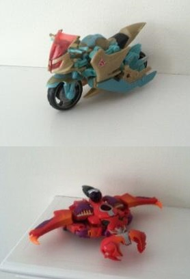 Transformers News: TFCC 2014 Exclusives Protoform X and Trans-Mutate Images