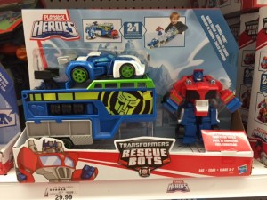 Transformers: Rescue Bots Rescue Racers and Racing Trailer Sighted at US Retail