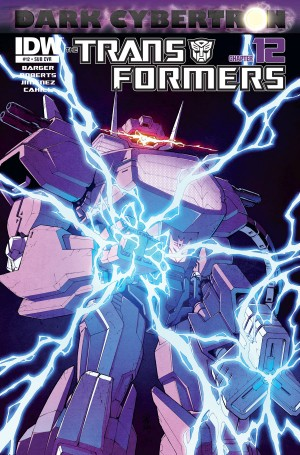 Transformers News: IDW Transformers: More Than Meets the Eye Vol. 6 and Dark Cybertron Hardcover Listings on Amazon.com