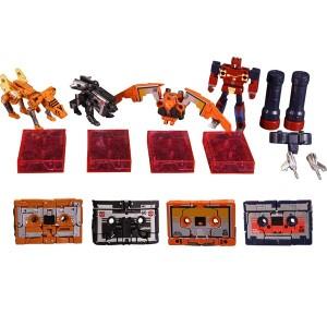 Transformers News: Masterpiece 15 / 16E Cassettebot VS Cassettetron Video Review