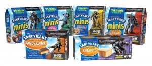 Tastykake® Brings Characters To Life With Transformers: The Last Knight Partnership