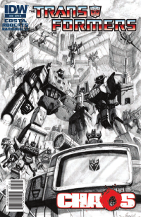 Transformers News: Transformers Ongoing #28 Seven Page Preview