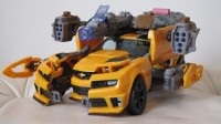 Transformers News: Updated Pictures of DOTM Leader Class Bumblebee