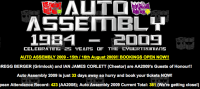 Transformers News: Auto Assembly 2009 Update- 'Milestones' Competitions