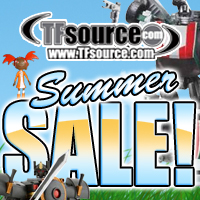 TFsource Summer Sale! Save up to 75% off on over 50 popular Transformers items!