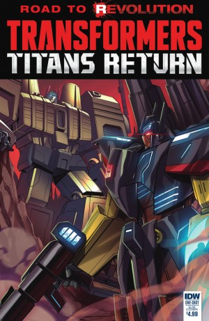 Transformers News: IDW Titans Return One-Shot Review
