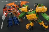 New Galleries: Transformers Prime Beast Hunters Cyberverse Commander Class Optimus Prime, Bulkhead, & Predaking