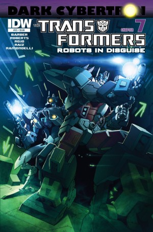 Transformers News: Sneak Peek - Transformers: Robots in Disguise #25 (DC7)